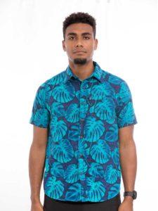 Men's Aisokula Bula Shirt, Tropica