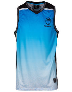 Fiji Rugby Men's Sublimation Basketball Vest
